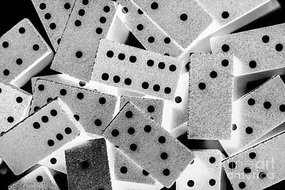 City Scenes - White dots black chips by Jorgo Photography - Wall Art Gallery