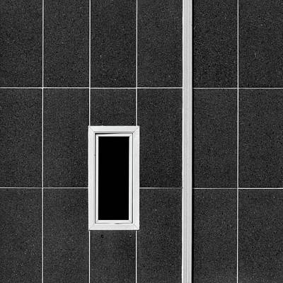 Photograph - White Line And Frame by Stuart Allen