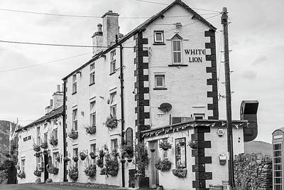Photograph - White Lion Pub Lake Ditrict Uk by John McGraw