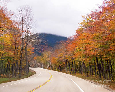 Photograph - White Mountain Road by Cheryl Del Toro