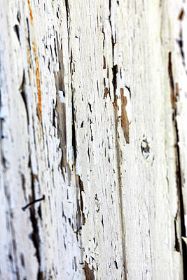 Photograph - White Paint On The Barn by John Rizzuto