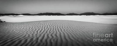 Photograph - White Sands In Black And White by Doug Sturgess