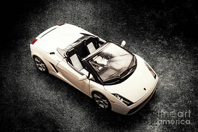 City Scenes - White Spyder by Jorgo Photography - Wall Art Gallery