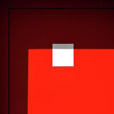 Photograph - White Square by Stuart Allen