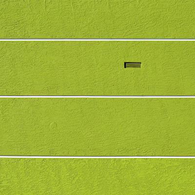 Photograph - White Stripes Landscape Version by Stuart Allen