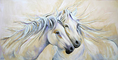 Painting - White Wind by Laurie Pace