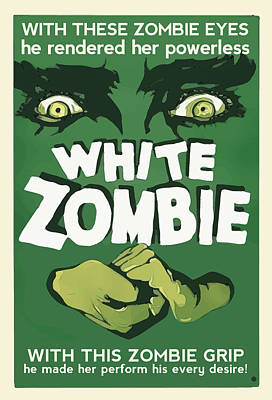 Digital Art - White Zombie by Gary Grayson