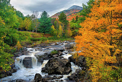 Photograph - Whiteface Mountain And The Ausable River by Mark Papke