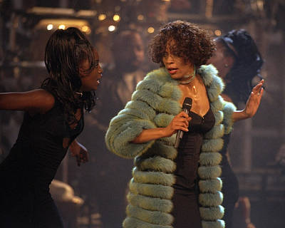 Photograph - Whitney Houston Vh1 Diva Concert by New York Daily News Archive