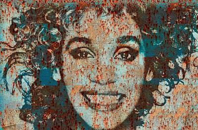 Digital Art - Whitney Love by Jayime Jean
