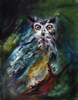 Painting - Whoo the -- by Ruslana Levandovska