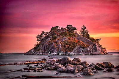 Photograph - Whytecliff Island by Jacqui Boonstra