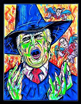 Photograph - Wicked Trump by Rob Hans