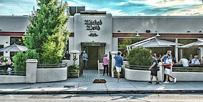 Photograph - Wicked Weed Brewery by Sharon Popek