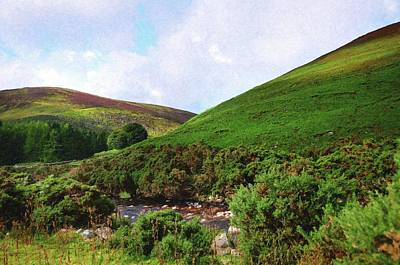 Photograph - Wicklow Journey. Green Hills by Jenny Rainbow