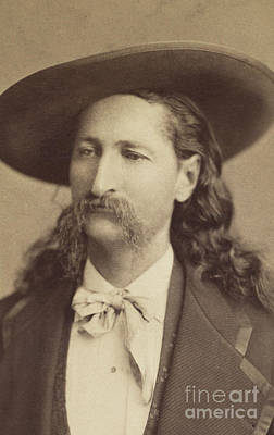 Photograph - Wild Bill Hickok, Circa 1873 by Jeremiah Gurney