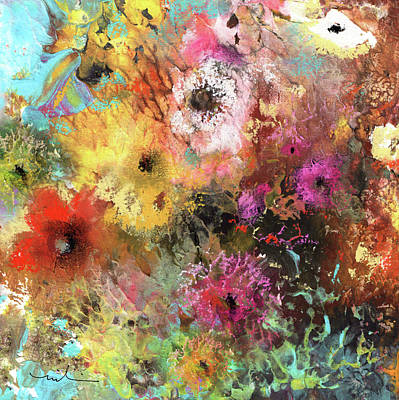 Painting - Wild Flowers 15 by Miki De Goodaboom