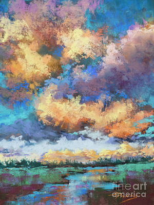 Painting - Wild Marsh by Dianne Parks