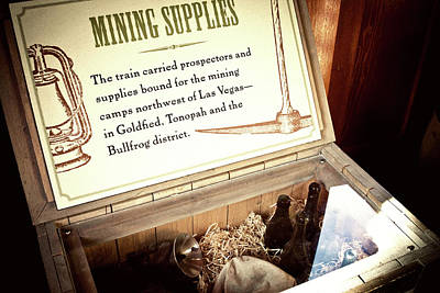 Photograph - Wild West Nostalgic Mining Supplies by Tatiana Travelways