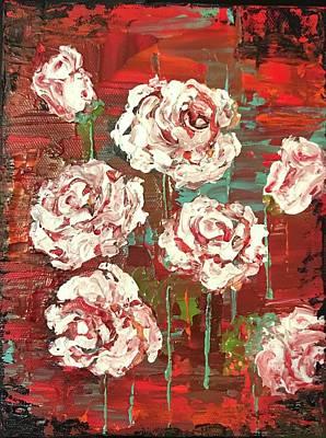 Painting - Wild Whites  by Elizabeth Mundaden