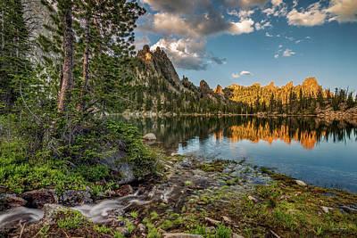 Photograph - Wilderness Lake by Leland D Howard