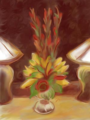 Painting - Wilderness Lodge Arrangement by Jean Pacheco Ravinski