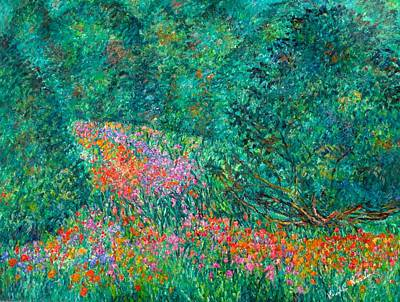 Painting - Wildflower Swirl by Kendall Kessler