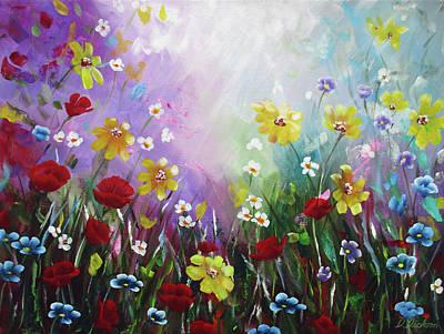 Vincent Van Gogh - Wildflowers 2 by Debra Dickson