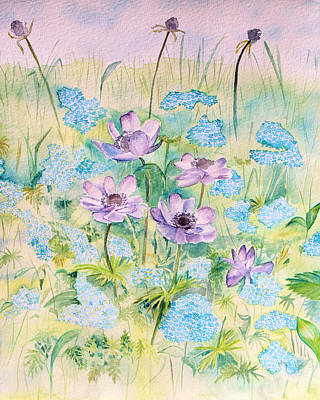 Painting - Wildflowers by Elizabeth Lock