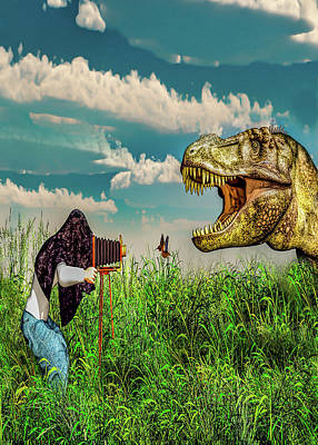 Digital Art - Wildlife Photographer  by Bob Orsillo