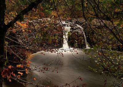 Photograph - Wildwood Falls 1 by Lara Ellis