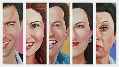 Painting - Will and Grace by Vic Ritchey