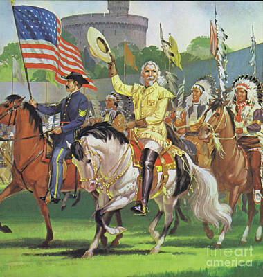 Painting - William Cody, Buffalo Bill  by Angus McBride