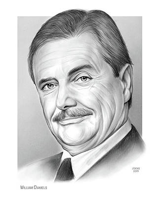 Drawings Rights Managed Images - William Daniels Royalty-Free Image by Greg Joens