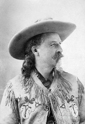 Photograph - William F. Cody, 1846-1917 by Granger