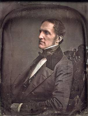 Painting Royalty Free Images - William Hicling Prescott by Southworth  Royalty-Free Image by Artistic Panda