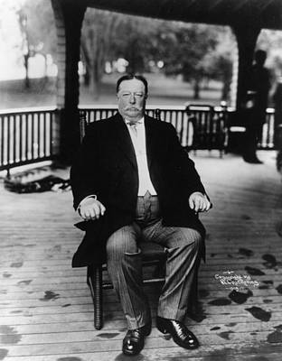 William Howard Taft Art Print by Hulton Archive