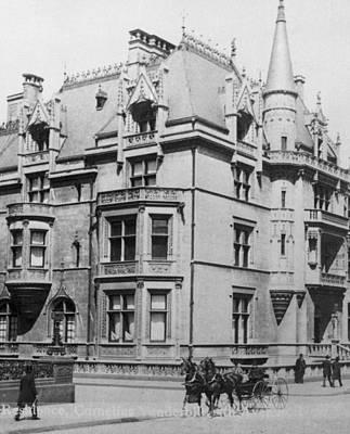 William K. Vanderbilt House Art Print by Archive Photos
