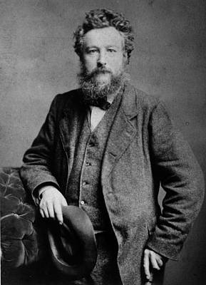 Photograph - William Morris by London Stereoscopic Company