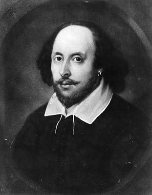 William Shakespeare Art Print by Hulton Archive