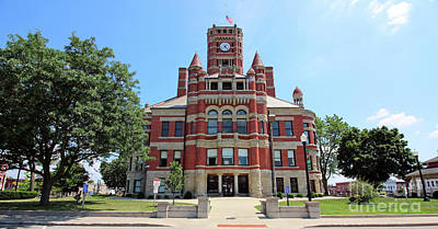 World War 2 Action Photography - Williams County Courthouse Bryan Ohio  1189 by Jack Schultz
