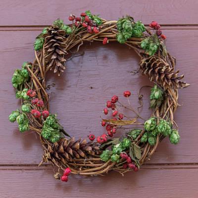 Photograph - Williamsburg Wreath 100 by Teresa Mucha