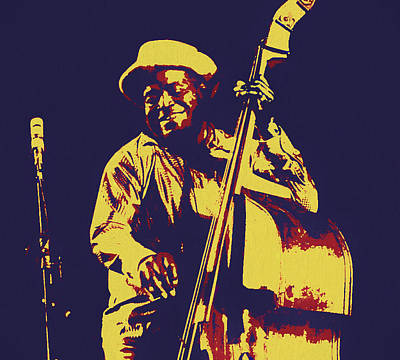 Painting - Willie Dixon by Dan Sproul
