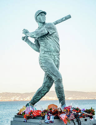 Photograph - Willie Mccovey R I P by Jessica Levant