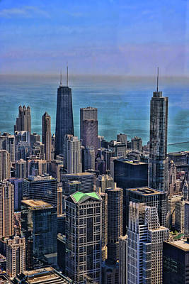 Photograph - Willis Tower View # 2 - Chicago by Allen Beatty
