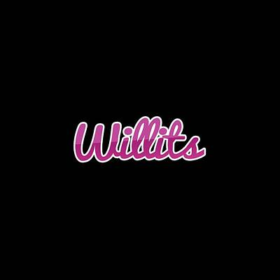 Digital Art - Willits #willits by TintoDesigns