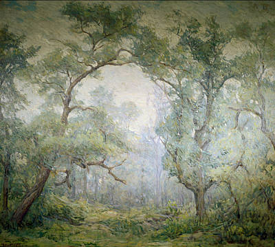Painting - Willows By Robert Reid, Oil On Canvas by David David Gallery