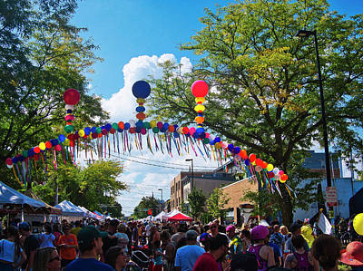 Photograph - Willy St Fair - Madison - Wisconsin by Steven Ralser