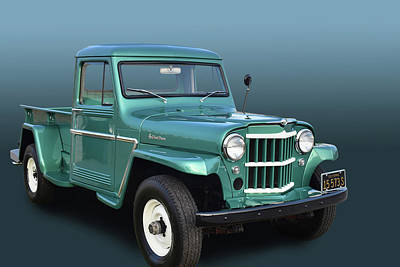 Photograph - Willys Pickup by Bill Dutting
