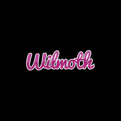 Digital Art - Wilmoth #wilmoth by Tinto Designs